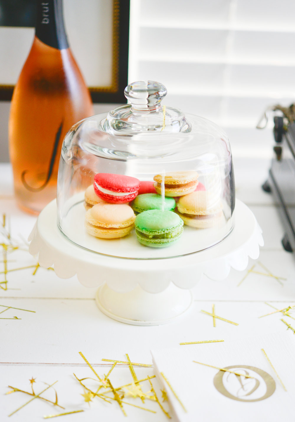 My Splendid Living | Mimosa Bar and Macaroons