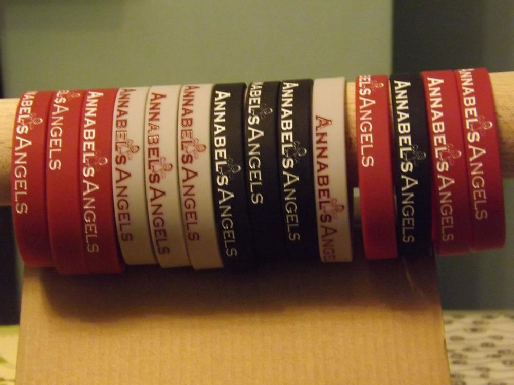 Annabel's Angels Wristbands