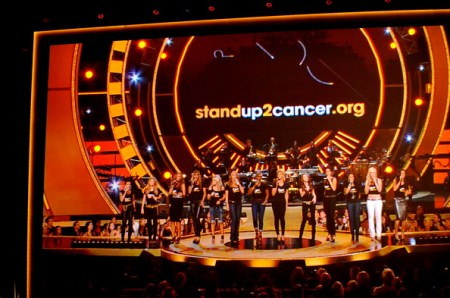 The recent efforts across a wide variety of television stations in supporting  STANDUP2CANCER.ORG