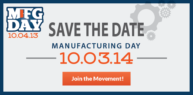 We'll be at Northwest State Community College on Friday, October 3rd for MFG. DAY 2014.