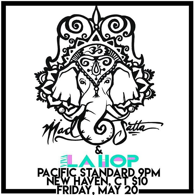 Tomorrow night at @pacificstandardtavern! Come out early to peep our friends @vivalahop from Boston #newhaven #ct #boston #livemusic