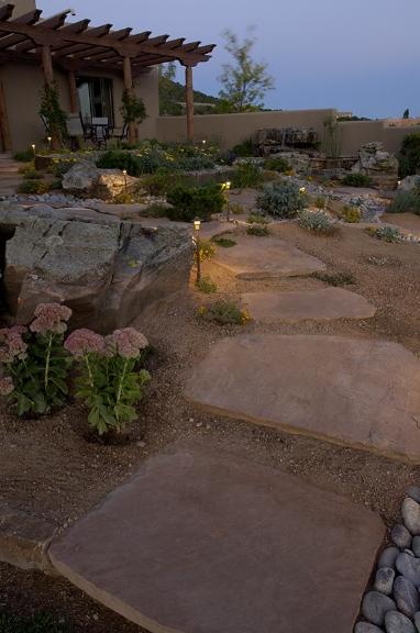 Stone Step Pathway