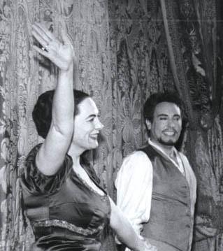 Renata Tebaldi, Mario del Monaco