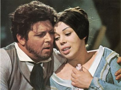 Gianni Raimondi and Mirella Freni