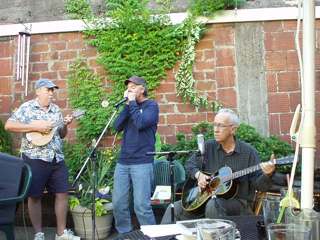 With Fred Anderson and Jeff Masters playing Holman's in Portland, Oregon around 2008.