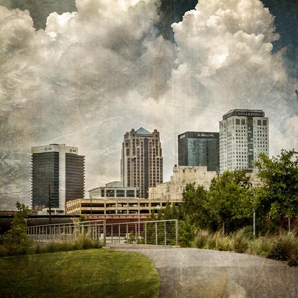 Birmingham Skyline - Square