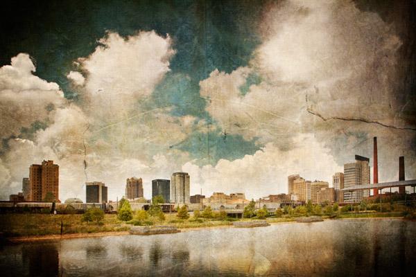 Birmingham Daytime Skyline