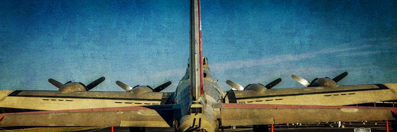 B-17 Tail Panorama