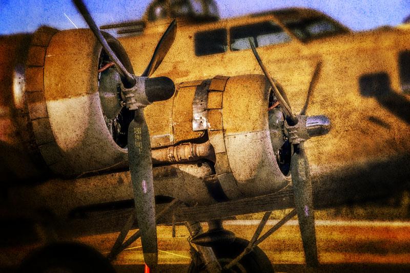 B-17 Engines