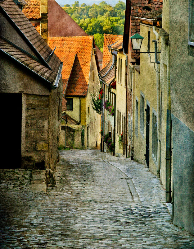 Rothenberg, Germany Alley