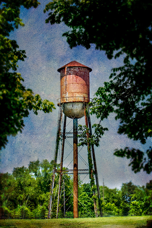 Alabaster (Siluria Mills) Water Tower
