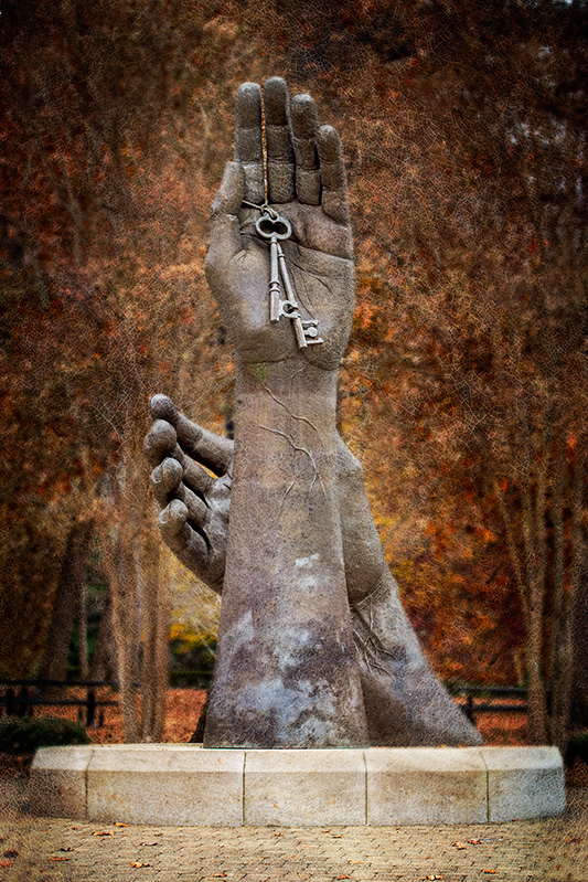 """Becoming"" on the campus of the University of Montevallo"