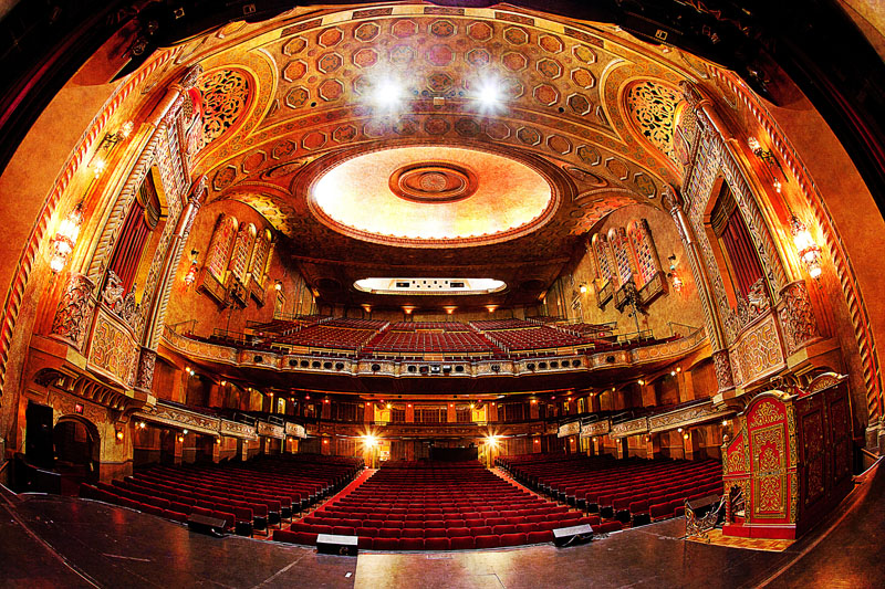 Alabama Theatre from the stage