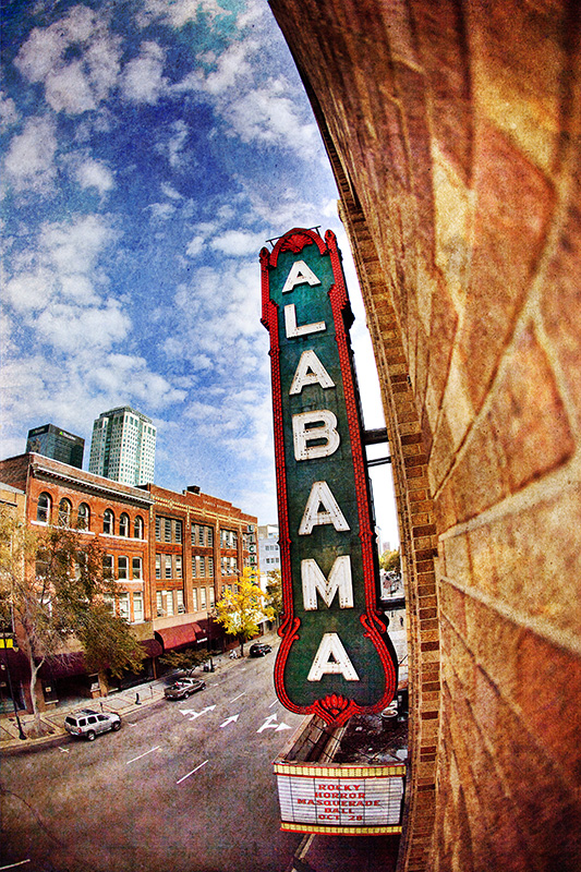 Alabama Marquee fish-eye 2