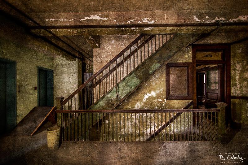 Lyric Theatre Stairway