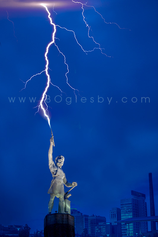 Vulcan with Lightening #2