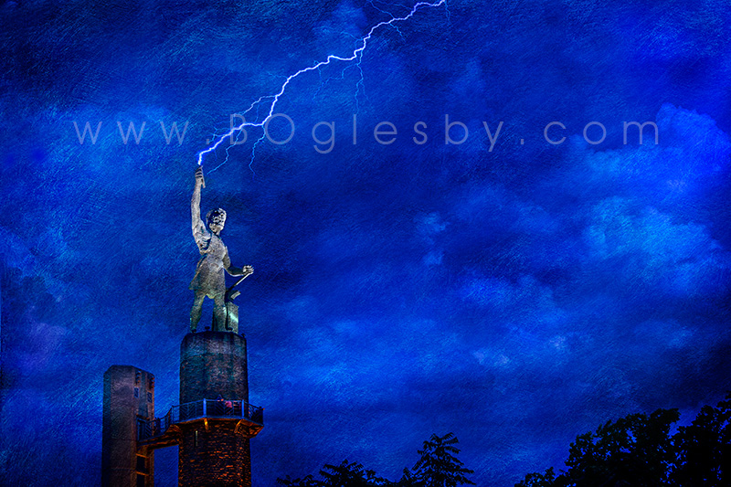 Vulcan with Lightening #1