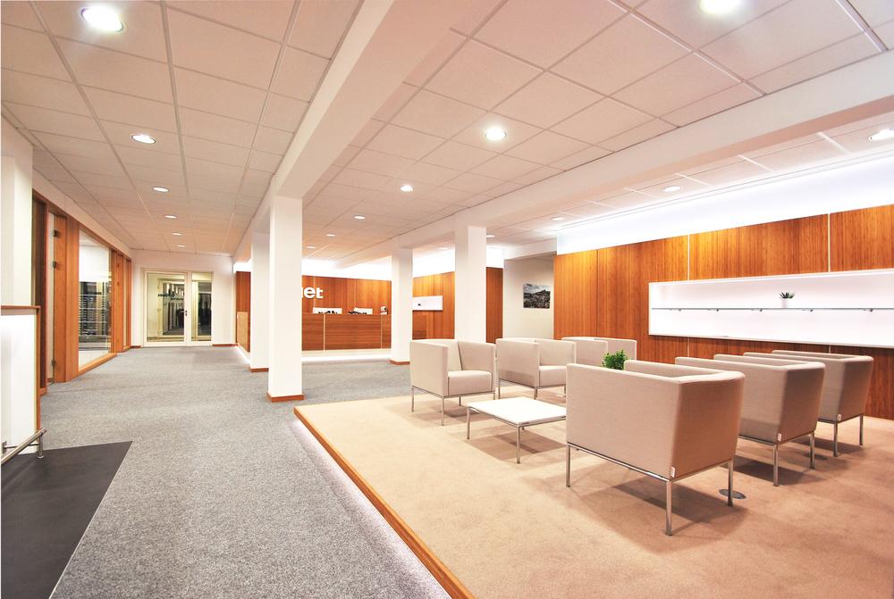 Finet Ag Interiordesign Mieterausbau Althaus Architekten Bda