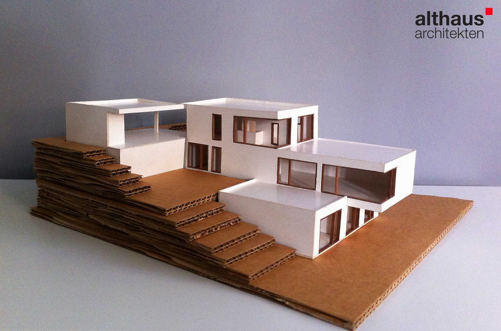 Blog althaus architekten marburg architekturb ro f r for Modellhaus bauen