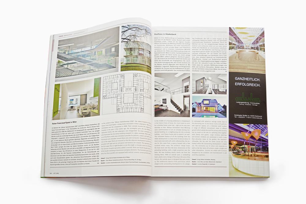 Architektur Magazin internationales architekturmagazin ait veröffentlicht poolhaus