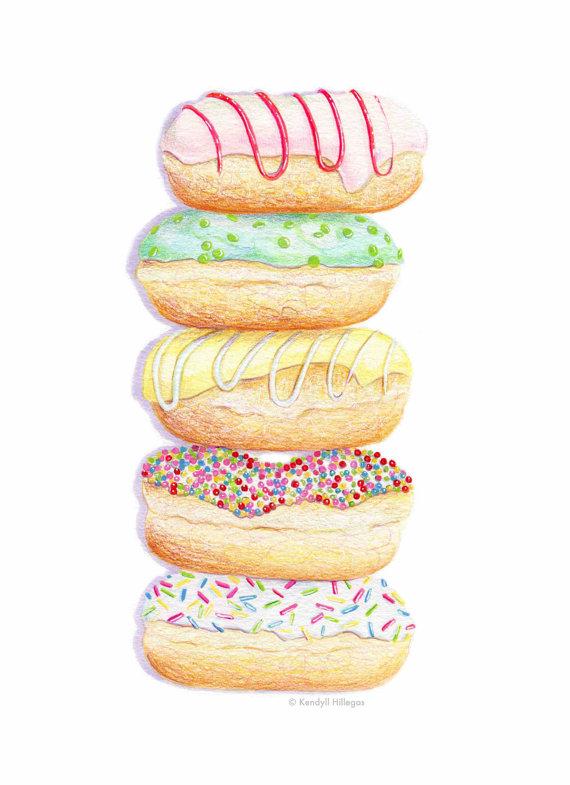 Donut Stack by Kendyll Hillegas