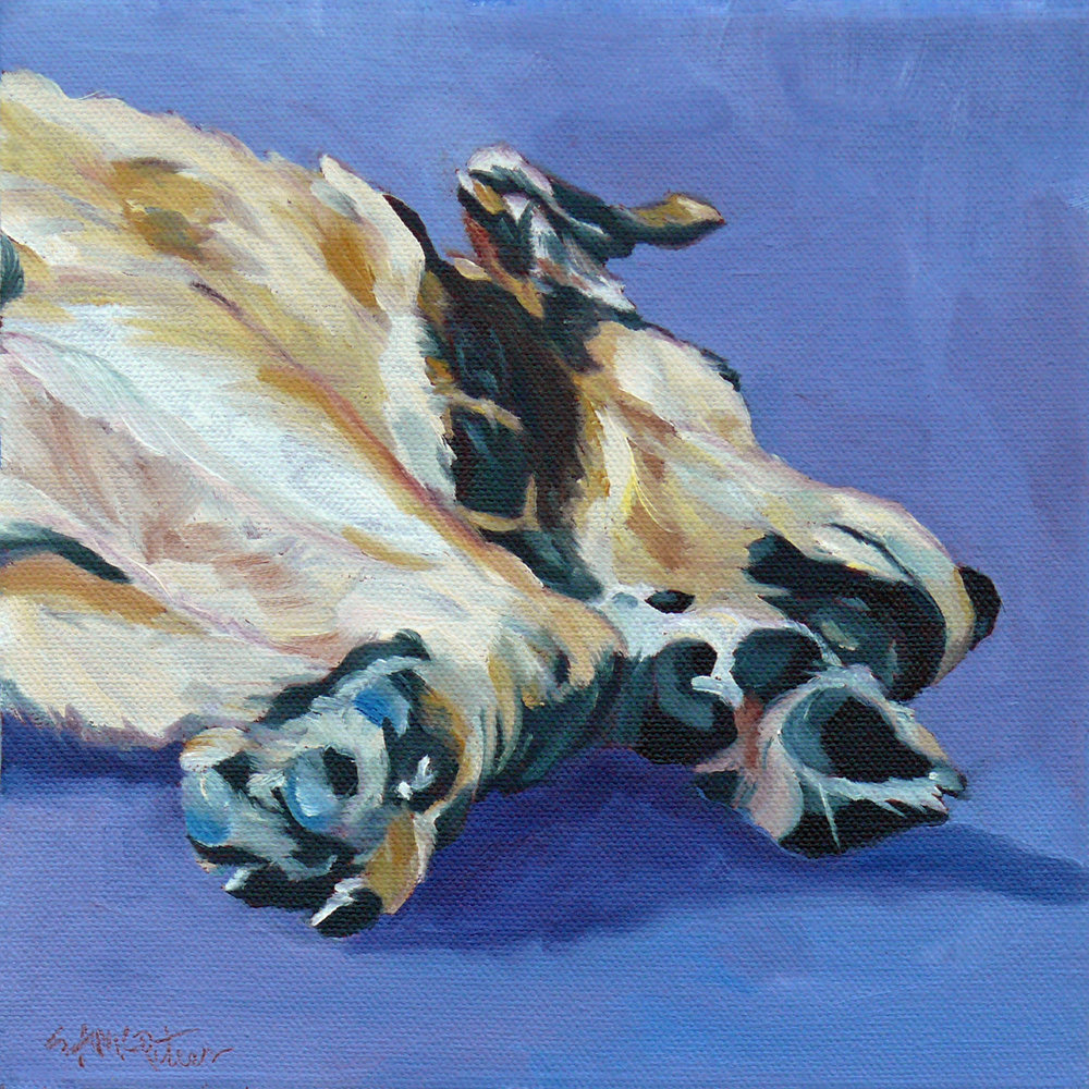 Johnny and His Paws 1500 Evelyn McCorristin Peters.jpg