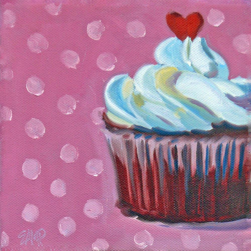Cupcake and Polka Dots Evelyn McCorristin Peters 1500.jpg