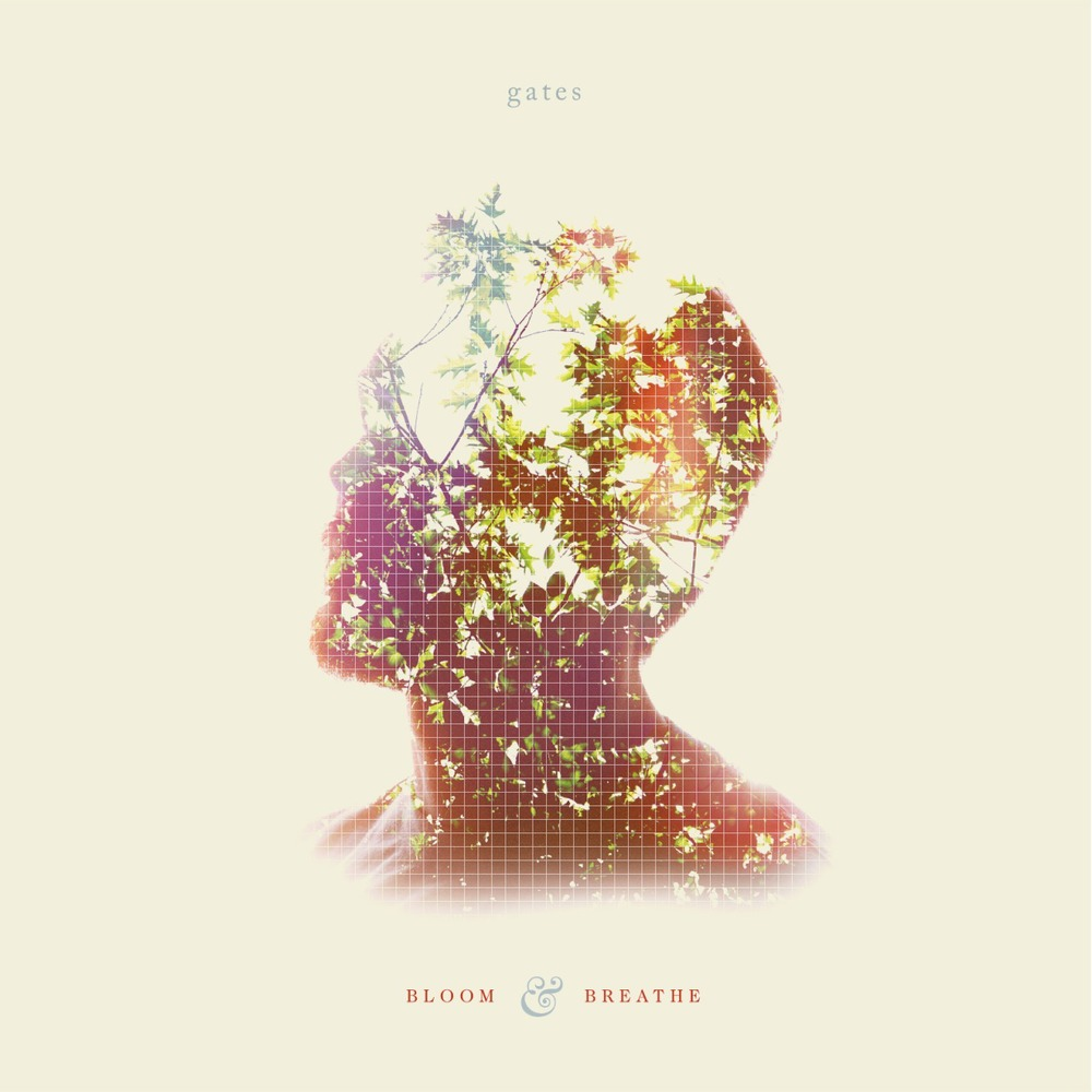 """Bloom & Breathe"" Gates   LP/CD. 2014. Pure Noise Records. Artwork by Dan King & Mike Maroney."