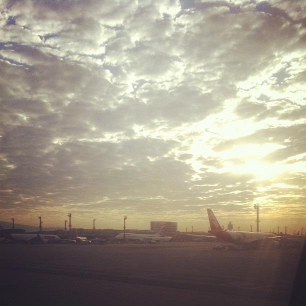 Good morning! (Wurde mit Instagram in Sao Paulo - Gru - Intl Airport aufgenommen.)