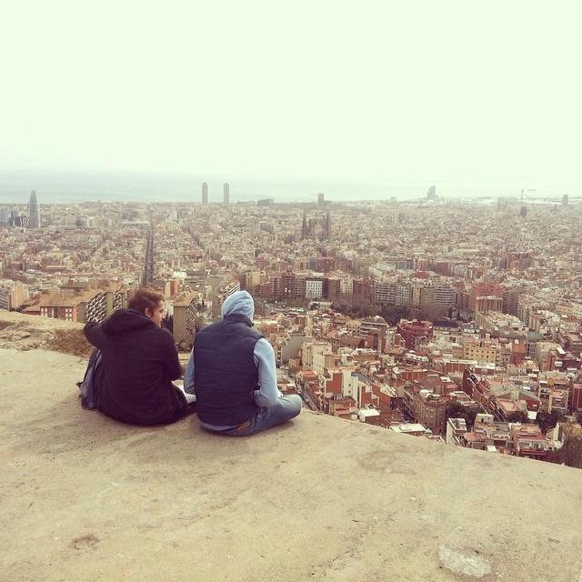 Barcelona rooftop