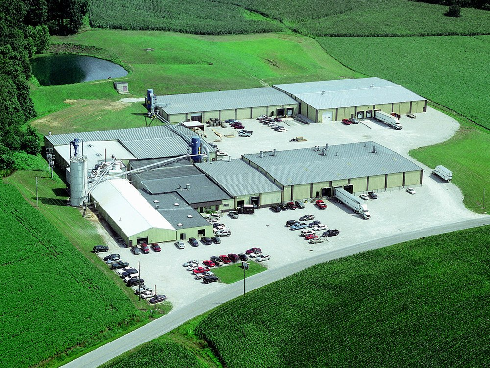 Ariel view of our Southern Indiana facility
