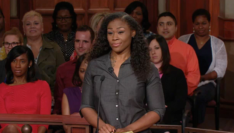 Watch Wednesday when a woman sues her former employee, claiming the defendant is promiscuous and tried to get her man! What does the defendant say? Tune in to find out!