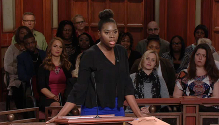 TUNE IN TO ALL-NEW CASES- IT'S SEASON 20 OF JUDGE MATHIS! On Monday, a woman petitions the court for a DNA test. She claims the defendant went to jail and denied her child! He claims he's turned his life around. Tune in for the results!