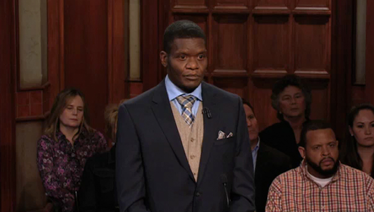 TUNE IN TO ALL-NEW CASES- IT'S SEASON 20 OF JUDGE MATHIS! On Thursday, a man petitions the court for a DNA test to see if he is the father of his own wife's child! He insists she cheated- what does she say? Tune in for the results!