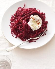 beet-pasta-ricotta