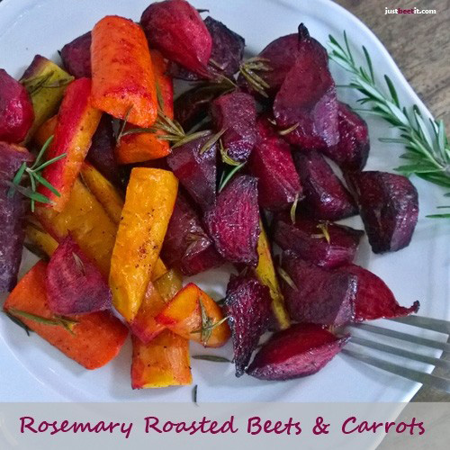 Rosemary Roasted Beets and Carrots Recipe