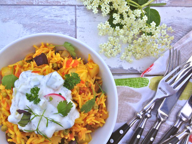 Tasty Tuesdays Persian Style Vegetarian Rice