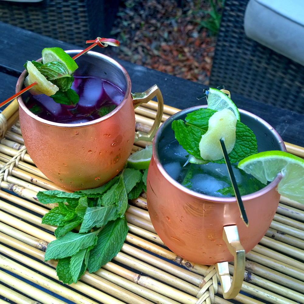 Beet Moscow Mule
