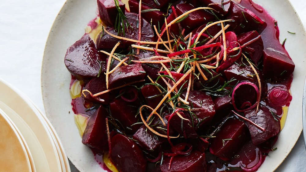 Roasted Beets with Grapefruit and Rosemary  by  Bon Appetit