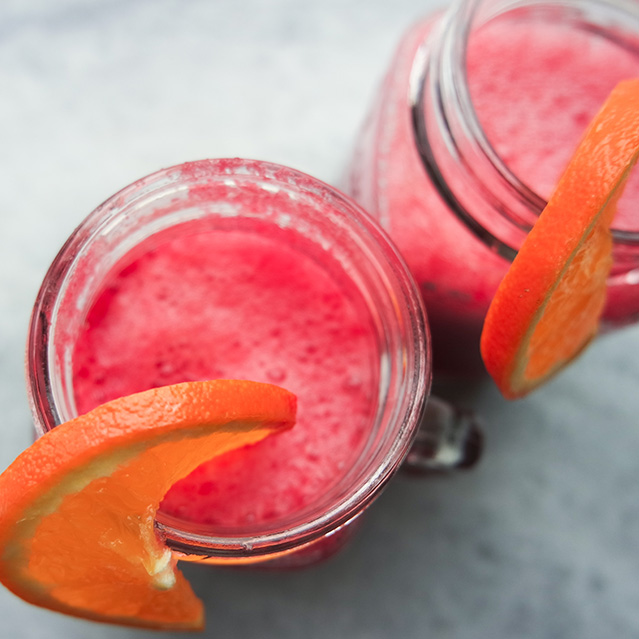 Beetroot Orange and Banana Immunity Boosting Smoothie