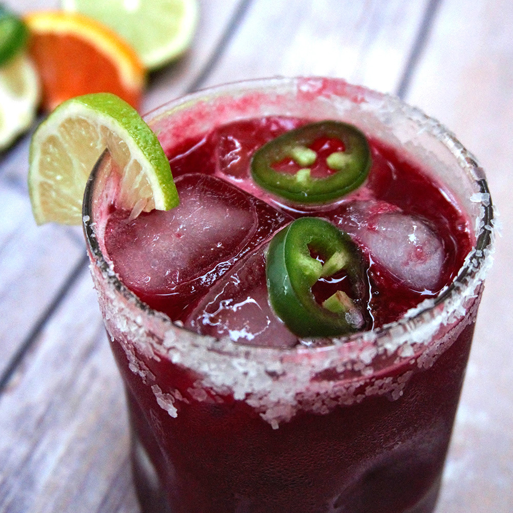 Smokin Hot Beeta-Rita Beet Mezcal and Jalapeno Margarita .jpg
