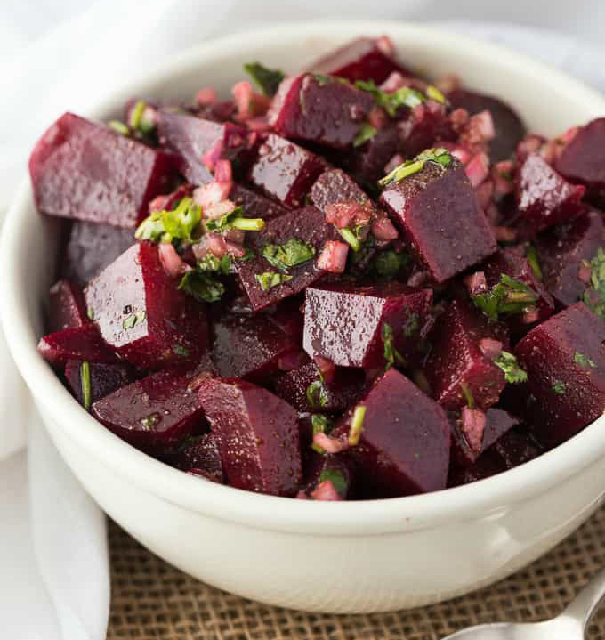 Moroccan Beet Salad  by Simply Stacie