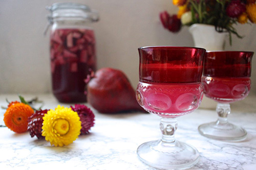 Beet Kvass  by  What Great Grandma Ate