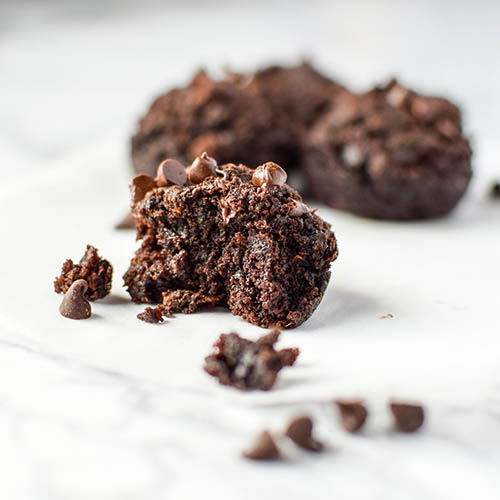 Freezer Friendly Sweet Potato Brownie Bites  by  Project Meal Plan
