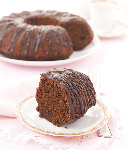 Beetroot and Chocolate Cake  by  The Clever Meal