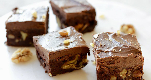 Sweet Potato Gluten-Free and Dairy-Free Brownies  by  Cathy's Gluten-Free