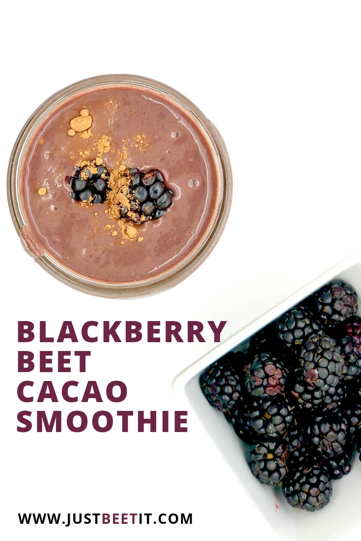 Beet Blackberry and Cacao Protein Smoothie.jpg