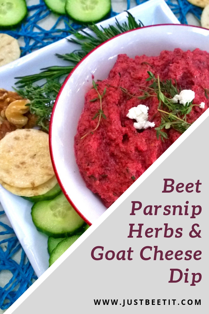 beet parsnip and herbs with goat cheese dip.jpg