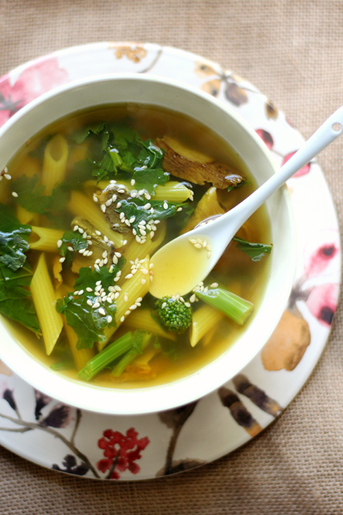 Tummy Healing Soup for One  by  Strength and Sunshine