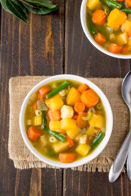 30 Minute Winter Vegetable Soup  by  Culinary Ginger
